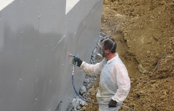 waterproofingSpraying